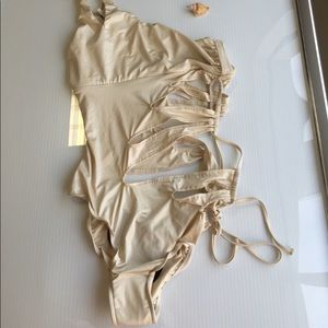 Beach Bunny exclusive Kardashian's one-piece swim